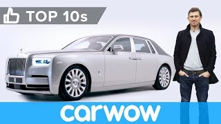 New Rolls Royce Phantom - the best car in the world? | Top 10s