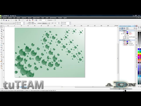 CorelDRAW, Creación de pincel / Figura diseminada X4, X5, X6 @ADNDC @adanjp