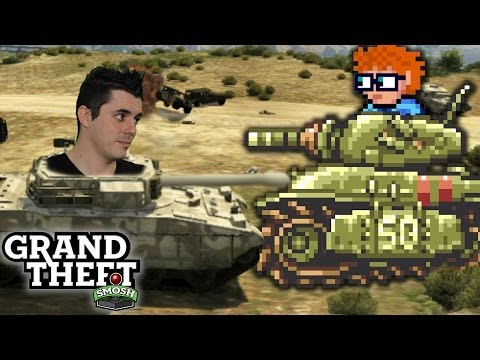 STEALING TANKS WITH JIMMY WONG (Grand Theft Smosh)