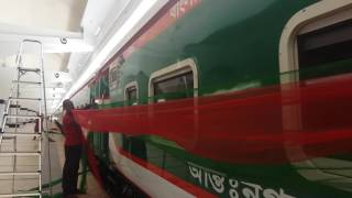 New train 'Sonar Bangla Express'  Dhaka-Chittagong route
