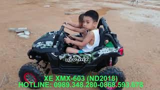 Xe ô tô điện trẻ em dáng địa hình siêu khủng XMX-603