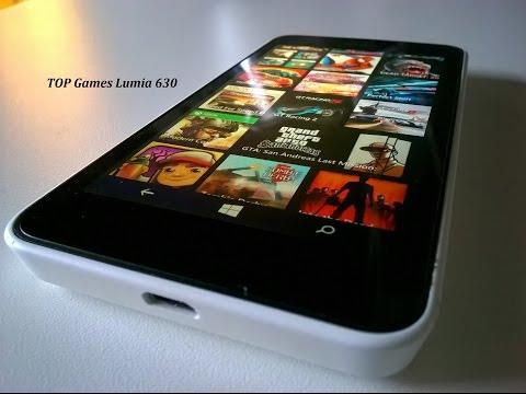 Teste Jogos Pesados Nokia Lumia 630 / Melhores Games para Windows Phone 512 RAM