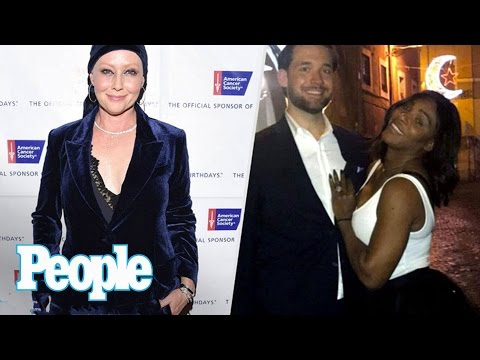 Tennis star Serena Williams shows off her engagement ring with fiancé Alexis Ohanian on Reddit, Mariah Carey enjoys dinner with her family following her NYE performance, inside Carrie Fisher's...