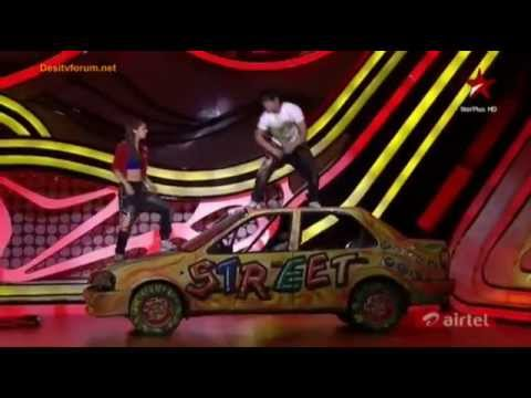 amar and charlie 5th performance in nach baliye 5(RACE-Saanson ki)