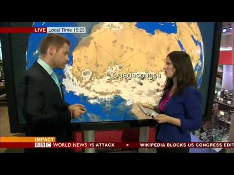 Ciara Riordan - Mali plane crash - BBC World Newsroom