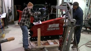 Western MVP3 Snow Plow Assembly