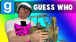 Gmod Guess Who Funny Moments - Bunnies on a Plane! (Garry