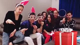 Neha Kakkar & Himansh Kohli - Together Again   New Year Celebration