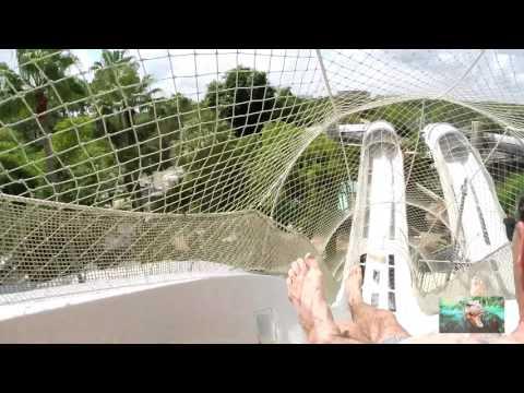 Crush 'N' Gusher-Pineapple Plunger in 1080p HD~Typhoon Lagoon