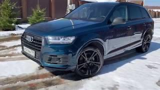 Audi Q7. Прекрасная, но 6 млн... Ауди Q7. Лиса рулит