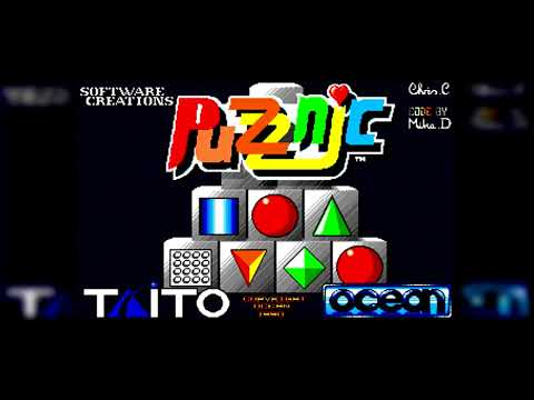 The Best of Retro VGM #1298 Puzznic (Amiga) InGame BGM