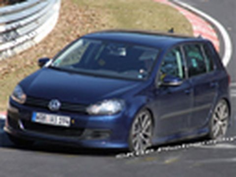 VW R20 Spied! 2010 Volkswagen Golf R20 @ Nürburgring
