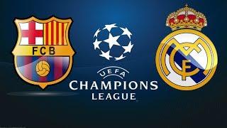 Real Madrid vs Barcelona I Semi Final UEFA Champions League I PES 2014