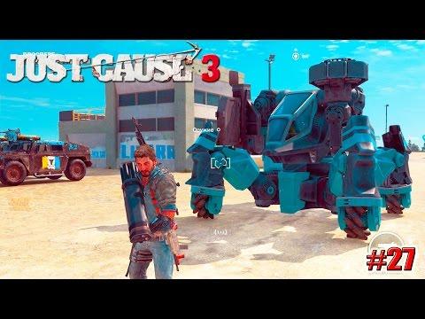 Just Cause 3 прохождение DLC: Reaper Missile Mech (27 серия)