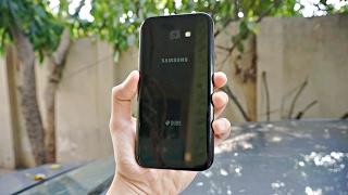 Samsung Galaxy A7 (2017) BLACK - Unboxing! (4K)