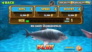 chơi game cá mập ăn thịt người - Hungry Shark evolution #6