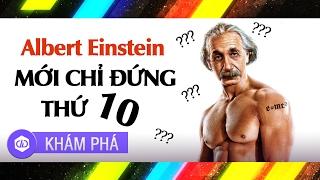 Thiên Tài Vĩ Đại Nhất Trong Lịch Sử Nhân Loại Là Ai khi Ngay Cả Albert Einstein Cũng Chỉ Đứng Thứ 10