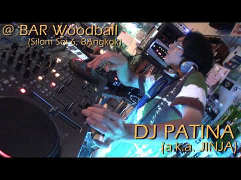 "DJ Patina (a.k.a. Jinja) @ Halloween Party, Bar ""Woodball"" (Silom, Bangkok) 31/Oct/2012"