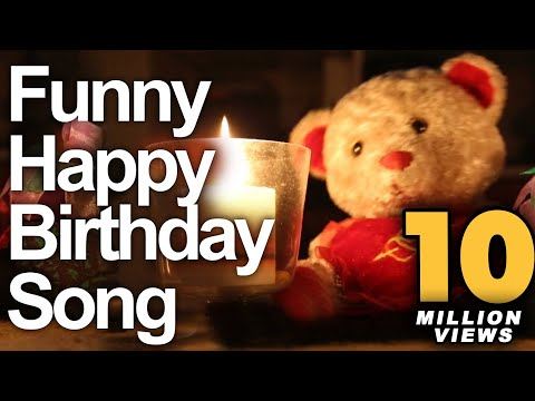 Funny Happy Birthday Song - Cute Teddy Sings Very Funny Song video