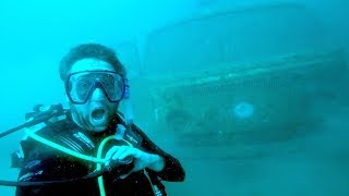 WE FOUND SOMETHING CRAZY UNDERWATER DIVING!