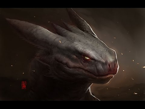 How to Paint Toothless Cuteless - How to Train Your Dragon Digital Painting Timelapse