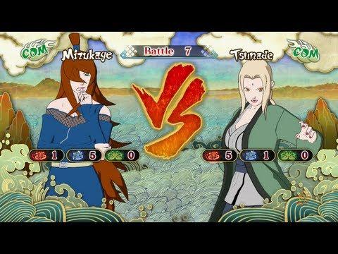 Naruto Shippuden: Ultimate Ninja Storm 3, Mizukage VS Lady Tsunade!