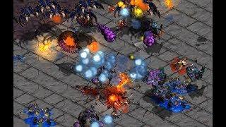 Fastest Map Ever 3v3 on Space - StarCraft - Brood War REMASTERED