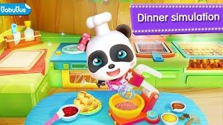 ❤【Update】Little Panda Restaurant 2 | Educational Games for kids | BabyBus Game