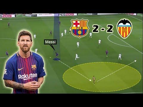 Messi Rescues Barcelona | Barcelona vs Valencia 2-2 | Tactical Analysis thumbnail