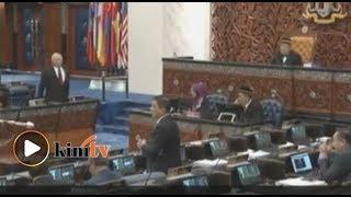 Parlimen kecoh, Azmin-Najib 'bertelagah'