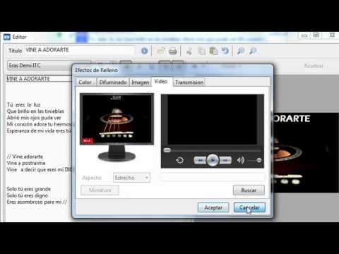 Easywordship 2009 crear cantos