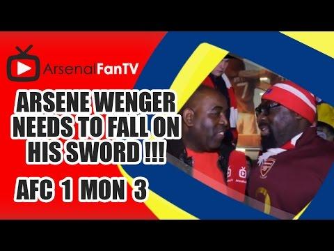 Arsene Wenger Needs To Fall On His Sword !!! - Arsenal 1 Monaco 3