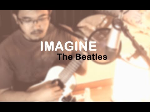 Imagine - The Beatles (guitalele cover | TheNylonTones | w/Chords and Lyrics)