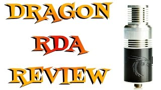 Dragon RDA by Cigreen Review - Cheap Authentic Dripper
