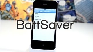 BattSaver - How To Double The iPhone Battery Life