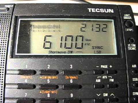 Radio Serbia International 6100 kHz. 3.6.2012.