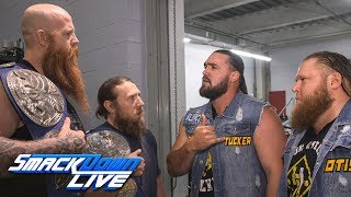 Daniel Bryan & Rowan argue with Heavy Machinery: SmackDown Exclusive, June 4, 2019