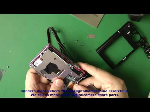Reparatur Kameras Nikon CoolPix S5100 -Display Umtausch - camera Replace or Repair- Display change