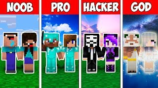 Minecraft NOOB vs PRO vs HACKER VS GOD : FAMILY BABY LOVE STORY in Minecraft ! AVM SHORTS Animation