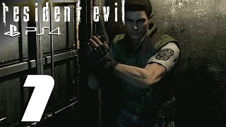 Resident Evil HD Remaster (PS4) - Chris Walkthrough Part 1 - Enter The Survival Horror