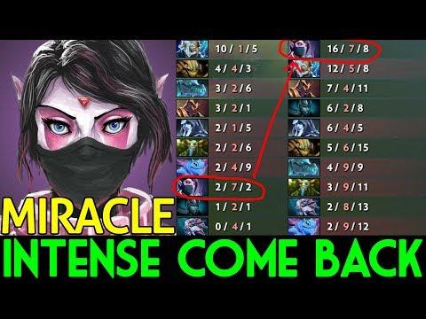 Miracle- Dota 2 [Templar Assassin] Intense Come Back