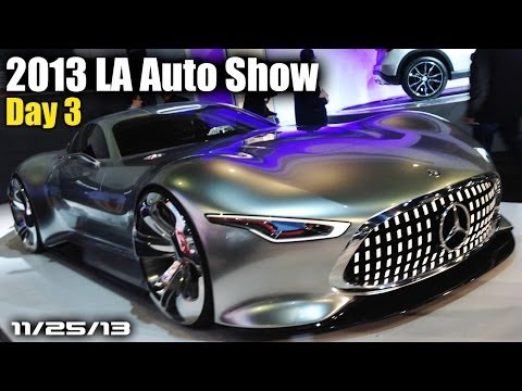 2013 LA Auto Show Day 3: Mercedes Vision GT6, Kia K900, Ford Edge Concept, New Civic Coupe, & More!