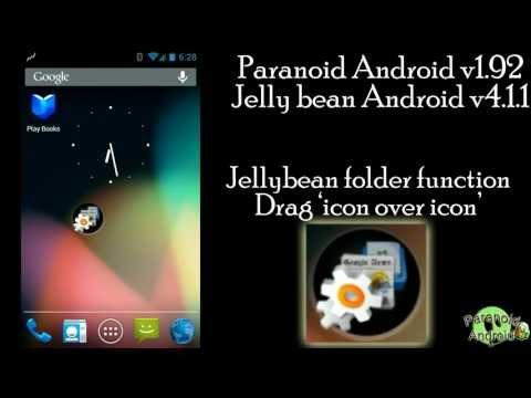 Samsung Galaxy S2 GT-I9100 PARANOIDANDROID v1.92 Jelly bean cyanogenmod 10 hybrid android 4.1.1