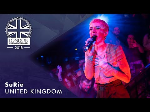 SuRie - Storm - UK |  LIVE  | OFFICIAL  | 2018 London Eurovision Party