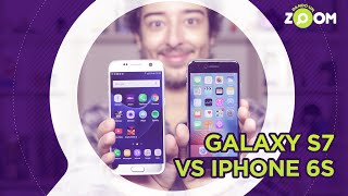 Galaxy S7 vs iPhone 6S - COMPARATIVO | DANDO UM ZOOM #29