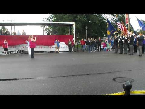 Michelle Bernath - National Anthem - 2012 Marysville Strawberry Festival