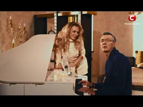 Скетч на Константина Меладзе и Веру Брежневу. Новогодний мюзикл 2017 на СТБ