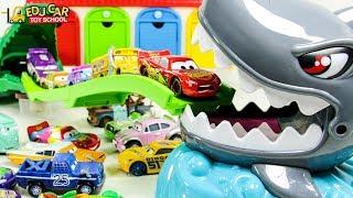 Learning Color Disney Pixar Cars Lightning McQueen Shark Toy play for kids car toys
