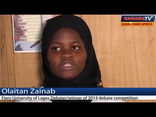 Youths Must Begin Acting to Change Nigeria even Without Political Power - UNILAG Best Debater (2014)