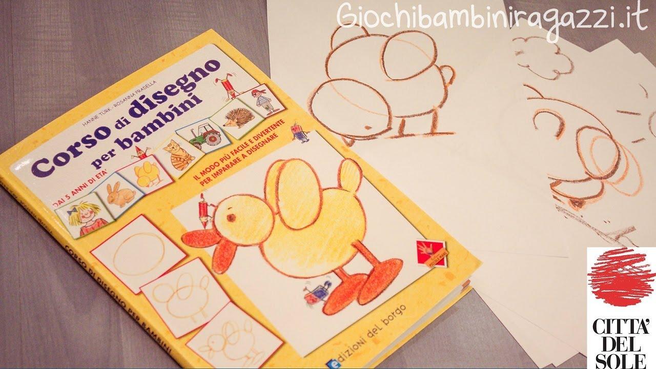 Corso di disegno per bambini manuale pratico youtube for Coniglio disegno per bambini